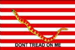 1ST NAVY JACK - 5 X 3 FLAG